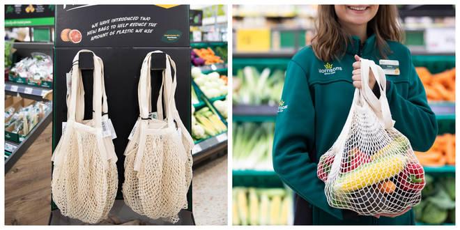 Morrisons is bringing back string bags for fruit and veg