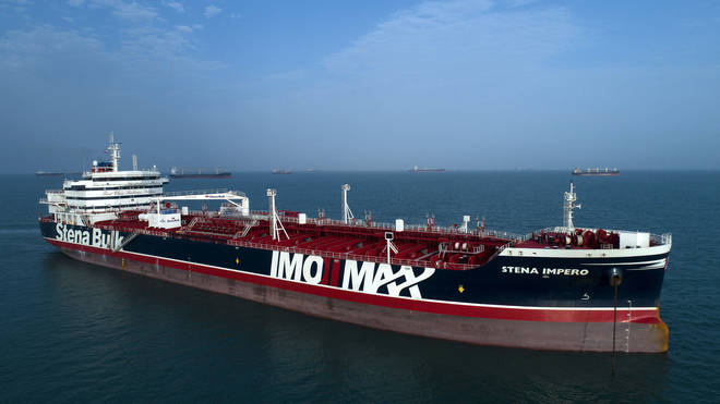 The Stena Impero is being permitted to leave Iran