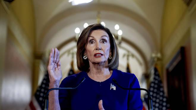 Nancy Pelosi has launched impeachment proceedings