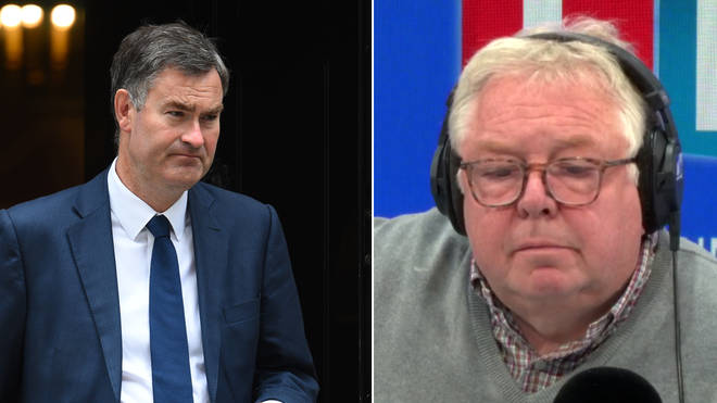 "David Gauke was challenged by an LBC listener over his ""puerile"" position"