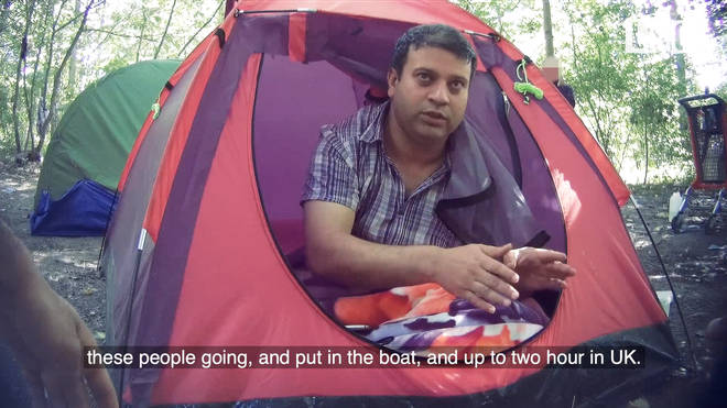 Farooq, one of the bosses of the people smuggling gang