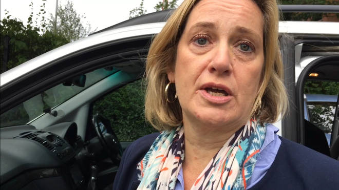 Amber Rudd has suggested she may stand against her party in a London constituency