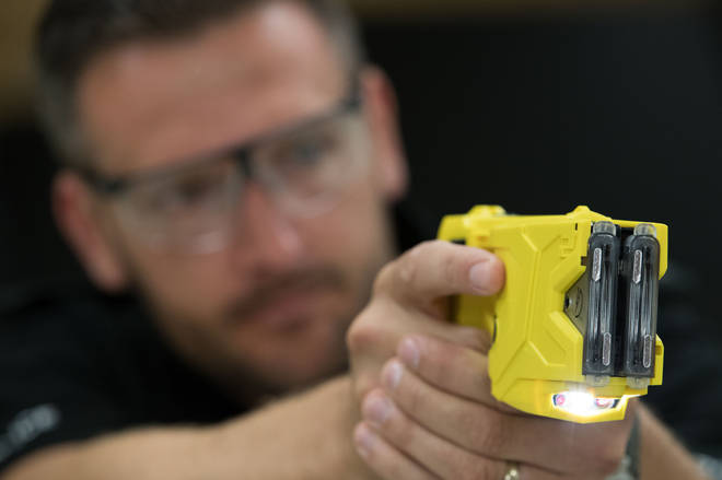 The Home Office is giving police forces £10 million in additional funding to significantly increase the number of officers carrying Taser.