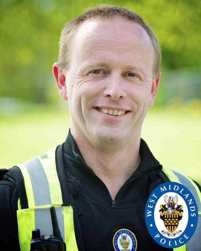 PC Chris Burnham was left seriously injured
