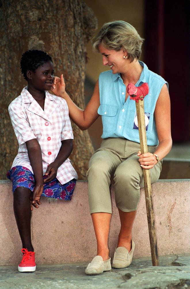 Princess Diana met Sandra Thijika in 1997