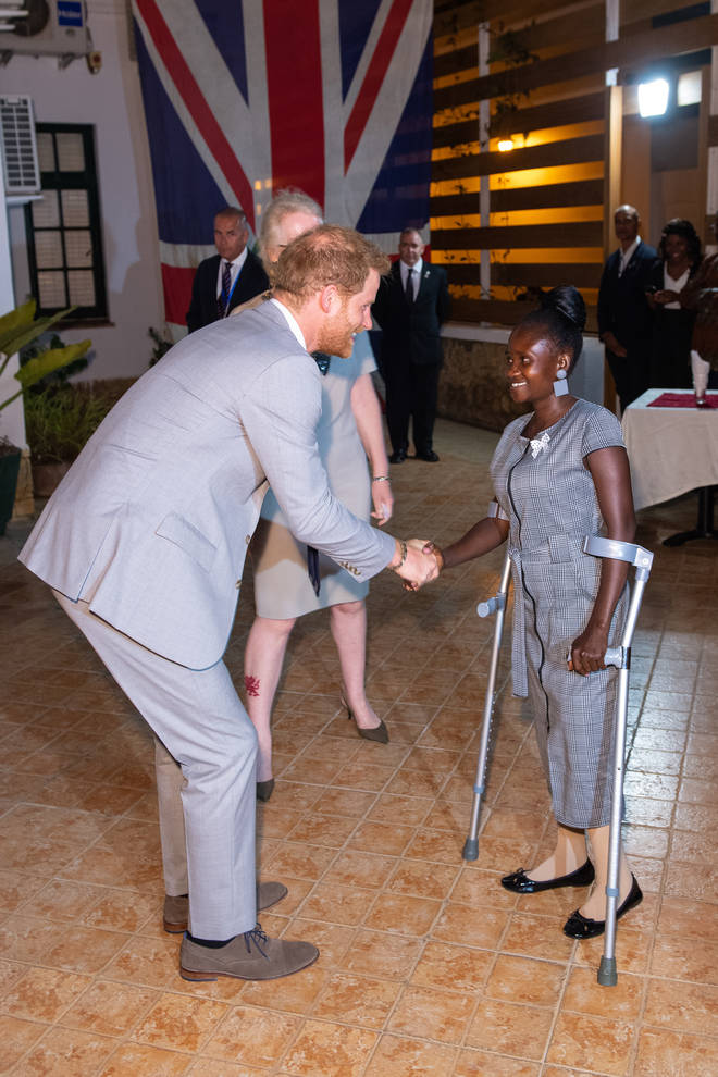 Prince Harry is currently in Africa on a royal tour