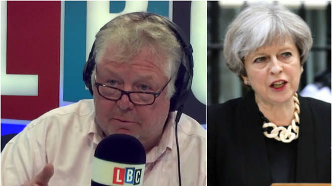 Nick Ferrari and Theresa May
