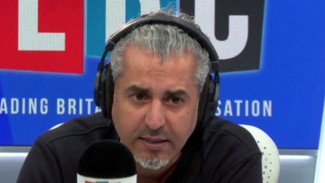 "First Time Caller Convinced By Maajid Nawaz To Stop Making ""Stupid"" Racist Comments"