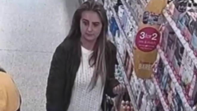Police are now trying to track down the woman