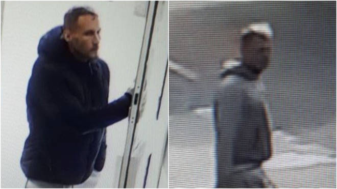 Essex Police have released images of two men in connection with a hate crime incident in Chelmsford