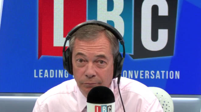 "Caller Tells Nigel Farage: ""The Idea That It&squot;s Only Thick, White Racists Who Voted To Leave Is Not True"""