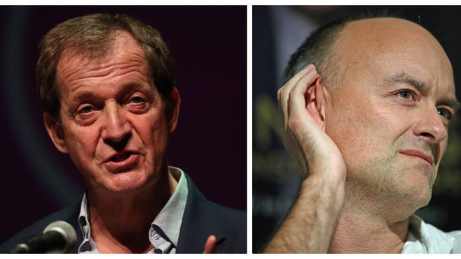 "Alastair Campbell Tells Nigel Farage: ""Dominic Cummings Goes Out Of His Way To Attract Attention"""