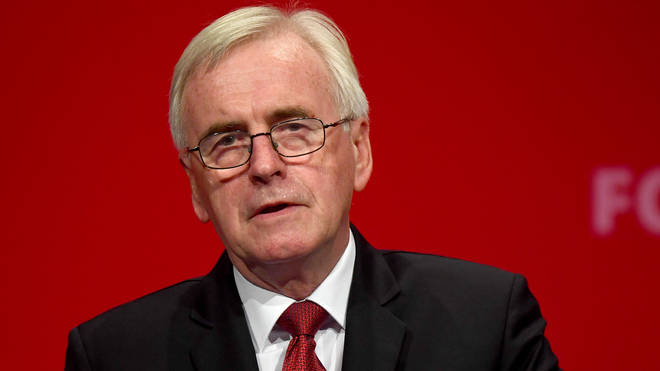 Labour's John McDonnell hit out at the Tory party speech