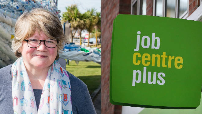 Therese Coffey the Work and Pensions Secretary