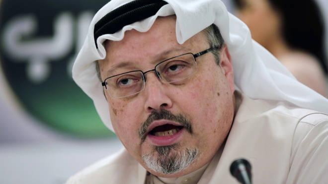 Jamal Khashoggi died in the Saudi consulate in October of last year