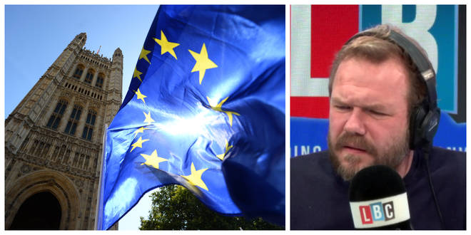 Did Remainers Work With EU To Write Benn Act? James O'Brien Asked The Man Who Wrote It