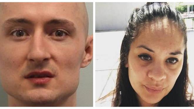 Kirill Belorusov, 32, strangled Laureline Garcia-Bertaux, 34, to death