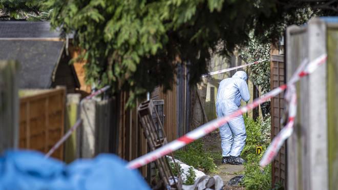 Ms Garcia-Bertaux body was found in her garden in Kew