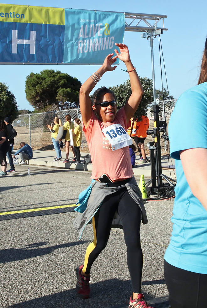 Doria Ragland ran the 21st Annual Alive and Running 5k for Suicide Prevention run