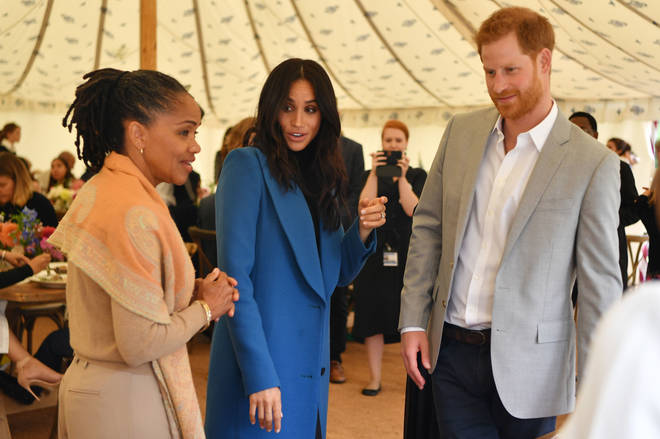 Ms Ragland's daughter Meghan Markle and her husband Prince Harry work with mental health charity Heads Together