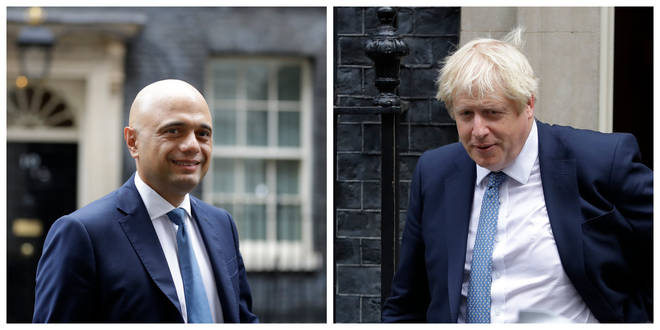 """Savid Javid said he would not """"get involved"""" in the accusations"""