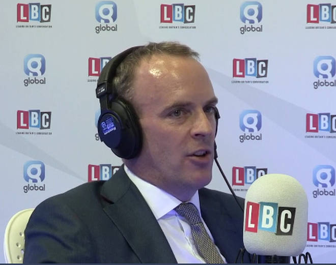 Dominic Raab Tells LBC He Hopes Parliament Is Prorogued Again