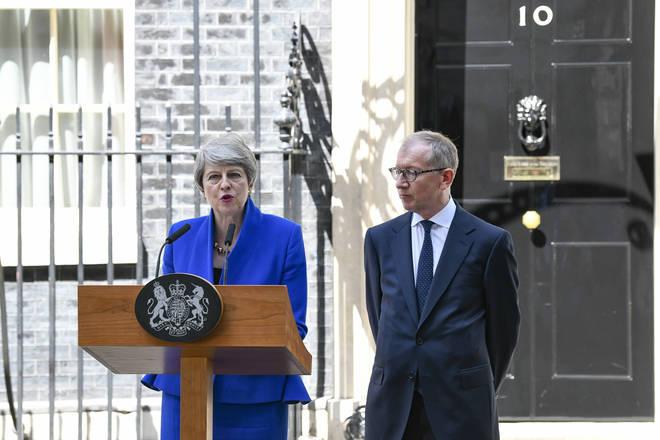 """Theresa May said she had a """"fantastic"""" time as leader"""