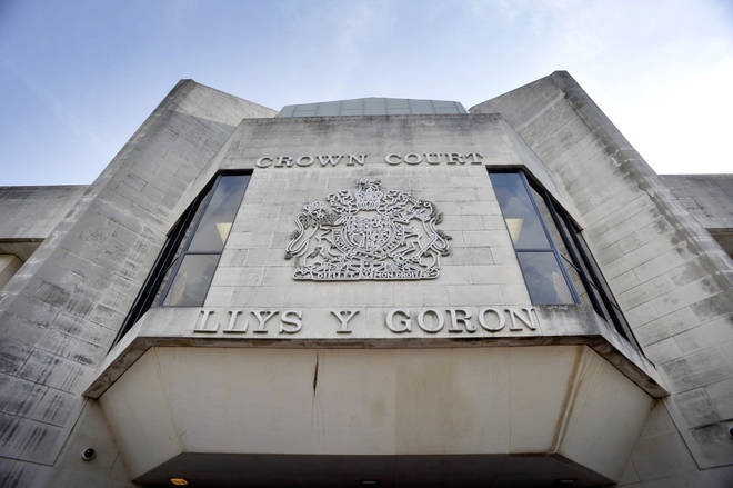 The trial is being heard at Swansea Crown Court