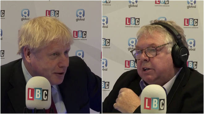 Boris Johnson told LBC that Brexit proposals would be sent to the EU by the weekend
