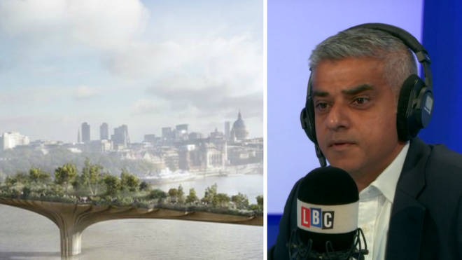 Sadiq Khan says the £50m spent on the shelved Garden Bridge had been spent.