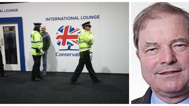 Senior Tory MP Kicked Out Of Conference After Fight Breaks Out