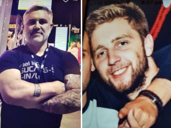 Daniel (left) and Liam (right) Poole went missing in April 2019