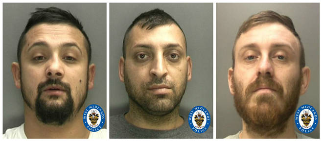 Stoian, Stoean and Molocia were all found guilty for the burglaries