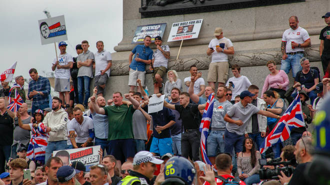 Huge protests in support of Tommy Robinson erupted on June 9 2018