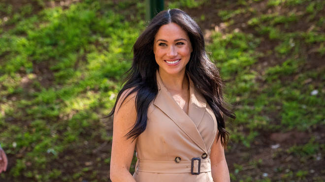 Meghan visited the University of Johannesburg today
