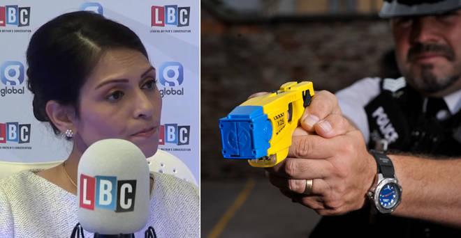 Priti Patel announced more funding for tasers following LBC's campaign
