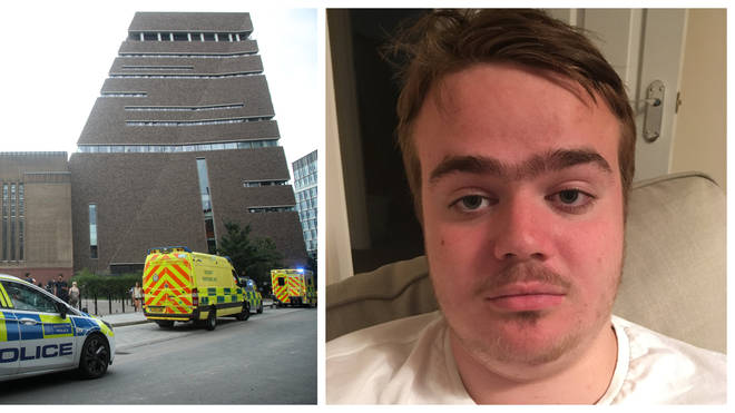 Jonty Bravery, 18, has been named as the suspect who threw a boy off the Tate Modern gallery