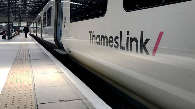 Thameslink trains were delayed today