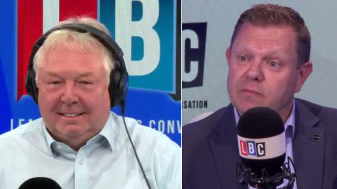 John Apter praised Nick Ferrari's taser campaign