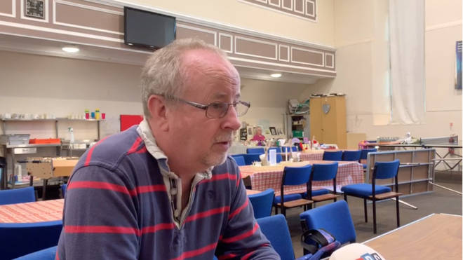"""Craig Crosthwaite from North Ayrshire Foodbank said they just """"can&squot;t meet the needs"""" of the community"""