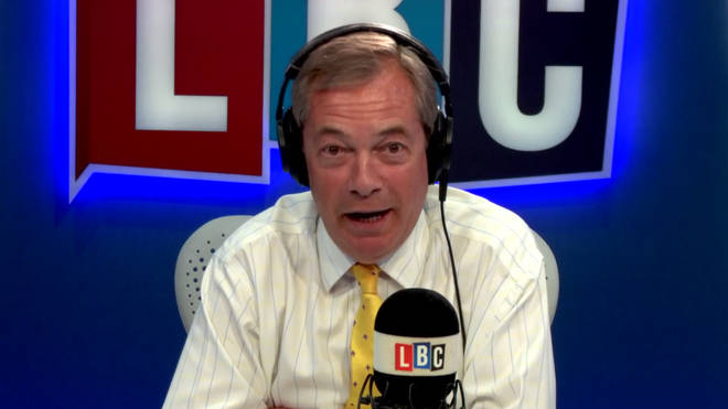 "Nigel Farage said that he will ""be in the mix"" if the UK contested the 2019 European elections."