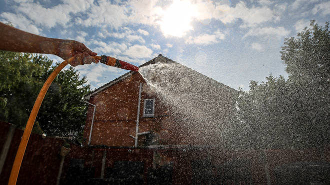 Hertfordshire and parts of North London could face a hosepipe ban