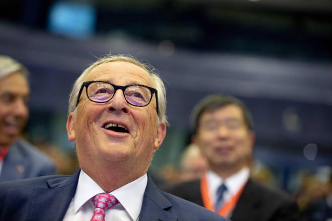 Jean-Claude Juncker received Johnson's proposals today