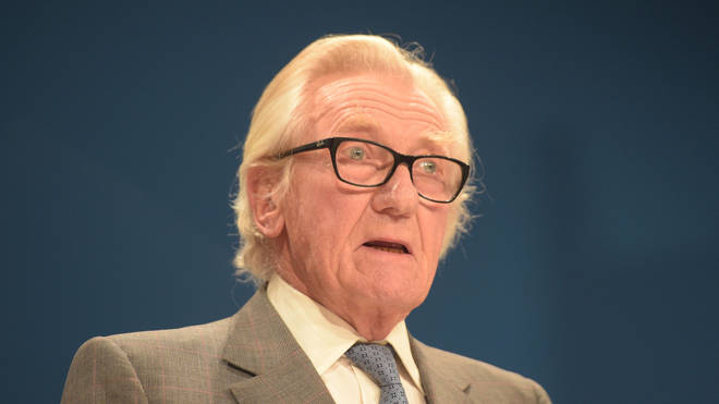 Former Conservative deputy prime minister Lord Heseltine