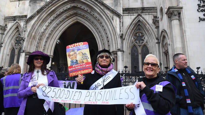 Pension age campaigners have lost a High Court battle against the government
