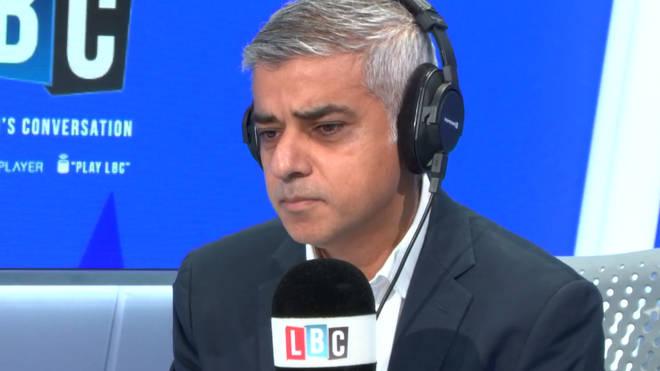 Mayor Sadiq Khan was very punchy on Speak To Sadiq