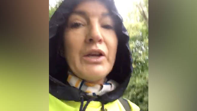 Rachel Murrell is walking from Devon to London to protest after Thomas Cook went bust