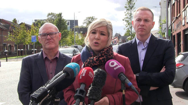 Sinn Fein's Michelle O'Neill called for urgent reform to abortion legislation