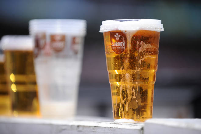Beer remains Britain's alcoholic drink of choice
