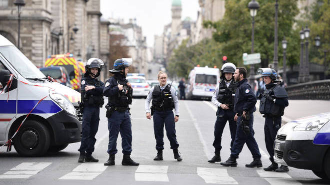 Four French police officers were killed on Thursday
